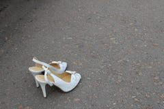 妇女的鞋子 图库摄影