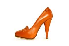 妇女的鞋子 免版税库存图片