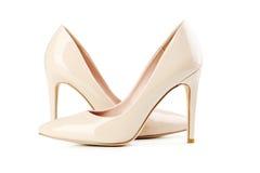 妇女的高跟鞋 免版税库存照片
