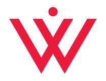 妇女的W 库存图片