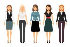 妇女着装条例例证 库存图片