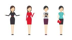 妇女着装条例例证 库存照片