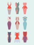 妇女礼服 免版税图库摄影