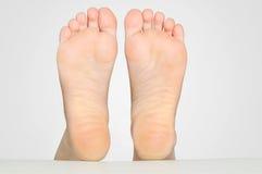 妇女脚 库存照片