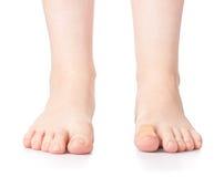 妇女脚 库存图片