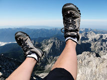 妇女腿 免版税库存图片
