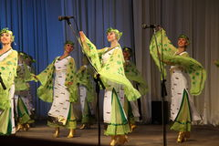 妇女舞蹈 库存图片