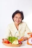 妇女营养师 库存照片