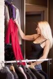 妇女藏品礼服 库存图片