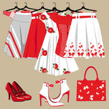 妇女衣物 免版税库存照片