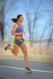妇女赛跑 免版税库存照片