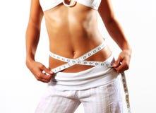妇女身体 免版税库存图片