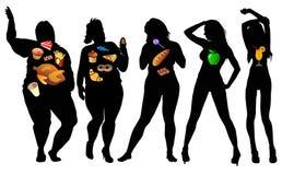 妇女身体 免版税库存照片