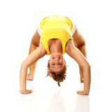 妇女锻炼 免版税图库摄影