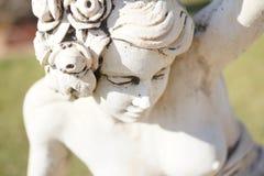 妇女雕塑 免版税库存图片