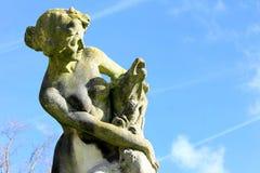 妇女雕塑 免版税库存照片