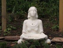 """妇女雕象在罗斯福公园,爱迪生, NJ,美国 Ð """" 免版税图库摄影"""