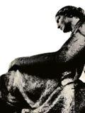 妇女雕象 免版税库存图片