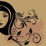 妇女面孔 图库摄影