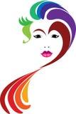 妇女面孔 免版税图库摄影