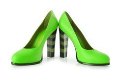 妇女鞋子 免版税库存图片