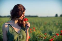 妇女鸦片 免版税图库摄影