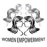妇女援权 库存图片
