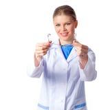 妇女医生 免版税库存图片