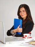 妇女建筑师。 免版税库存照片