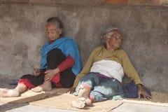 组妇女 免版税库存图片