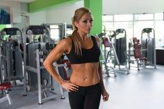 妇女` s健康健身 图库摄影