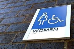妇女` s卫生间 库存照片