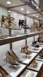妇女` s在显示的高跟鞋鞋子 库存图片