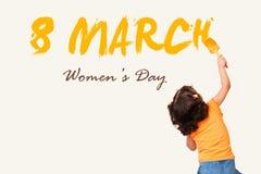 妇女` s天3月8日 免版税库存图片