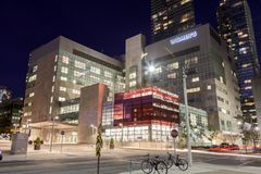 妇女` s学院医院在多伦多,加拿大 免版税图库摄影