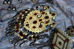 妇女jewelry1 免版税库存图片
