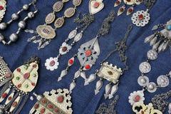 妇女jewelry5 免版税库存照片