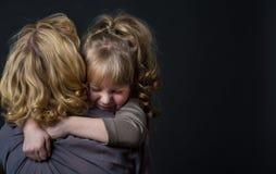 妈妈和女儿 图库摄影