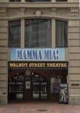 `妈妈在核桃街道剧院的Mia `,美国` s最旧的剧院,费城宾夕法尼亚 图库摄影