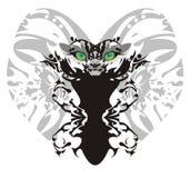 妖怪狮子蝴蝶 库存照片