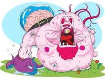 妖怪粉红色 库存图片