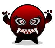 妖怪红色病毒 库存图片