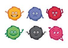 妖怪emoji意思号 免版税图库摄影