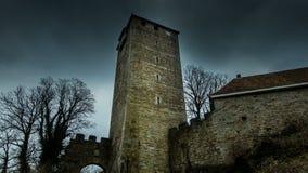 绍姆堡城堡塔在德国 免版税库存图片