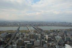 姊妹楼大阪梅田Holliday,地标,旅行,日本 免版税库存图片