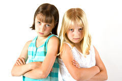 姐妹二 免版税图库摄影
