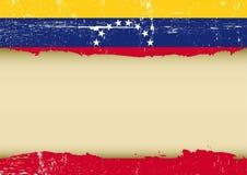 委内瑞拉人被抓的旗子 图库摄影