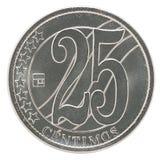 委内瑞拉分硬币 图库摄影