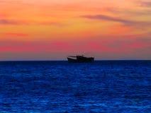委内瑞拉小船 库存图片