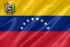 委内瑞拉旗子 库存照片